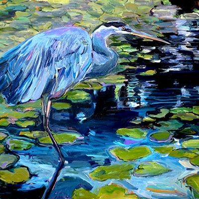 Blue by Janice Ykema