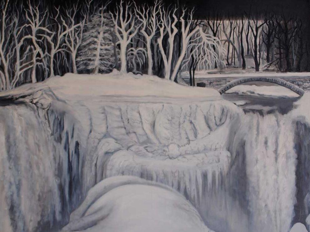 Niagara Ice -Helen Duplasie