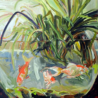Through A Fishbowl by Janice Ykema