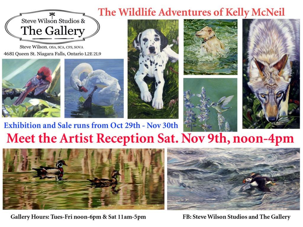 Wildlife Artist Kelly McNeil