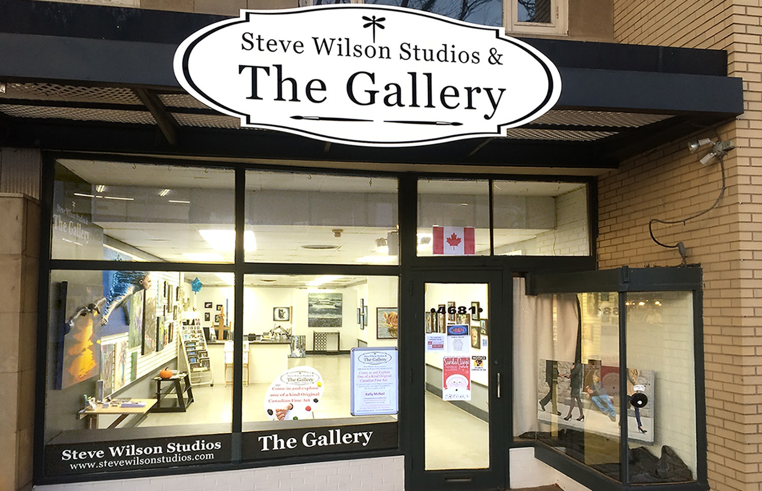 The Gallery Storefront