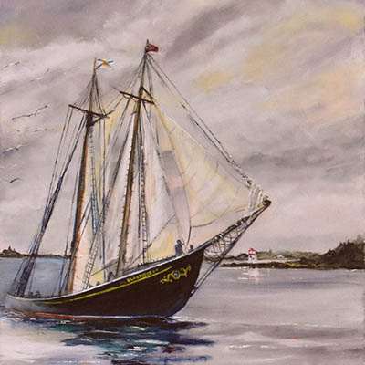 Bluenose by Robert Chisholm