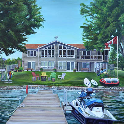 Cottage Life by Sheila Van Wier