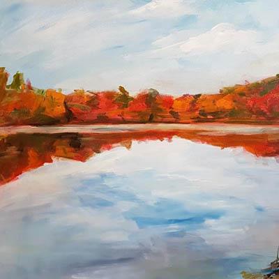 Fall In Gravenhurst by Joanne Lomas
