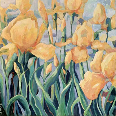 Golden Spring by Sueda Akkor