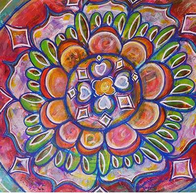 Mandala by Lauraine Lapointe Paradis