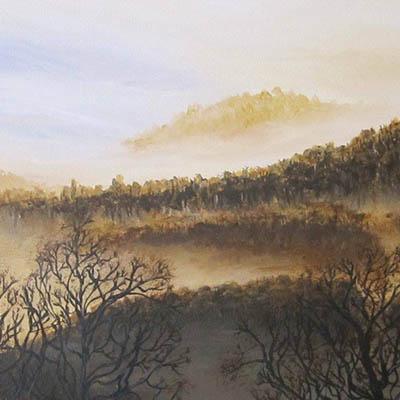 Quiet Morning Mist by Ellie Ruddle