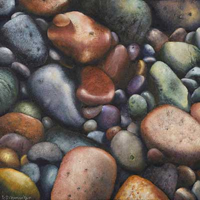 Shore Stones by Lynne Schumacher