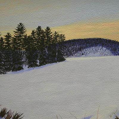Sundown On Turtle Bay by Margaret Pardy