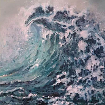 The Big Wave by Sueda Akkor