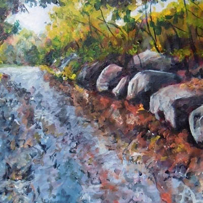 Up The Rocky Path by Joanne Lomas